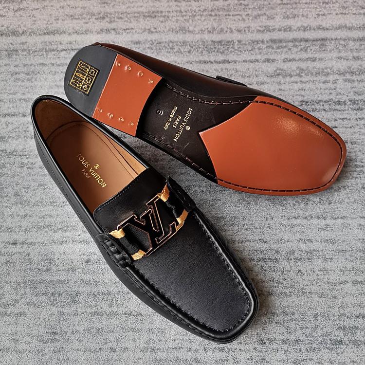 LV新款乐福鞋 精仿MONTAIGNE男士便鞋