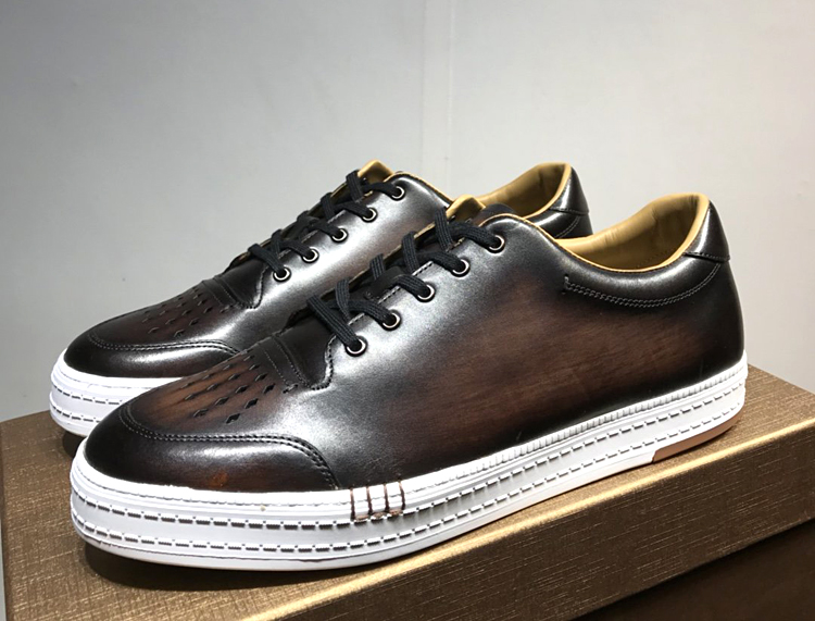 顶级品质Berluti男鞋 布鲁提高端男款休闲鞋