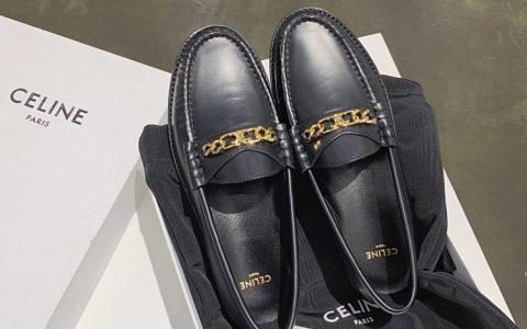 CELINE乐福鞋 2020春季新款复古单鞋 女款乐福鞋