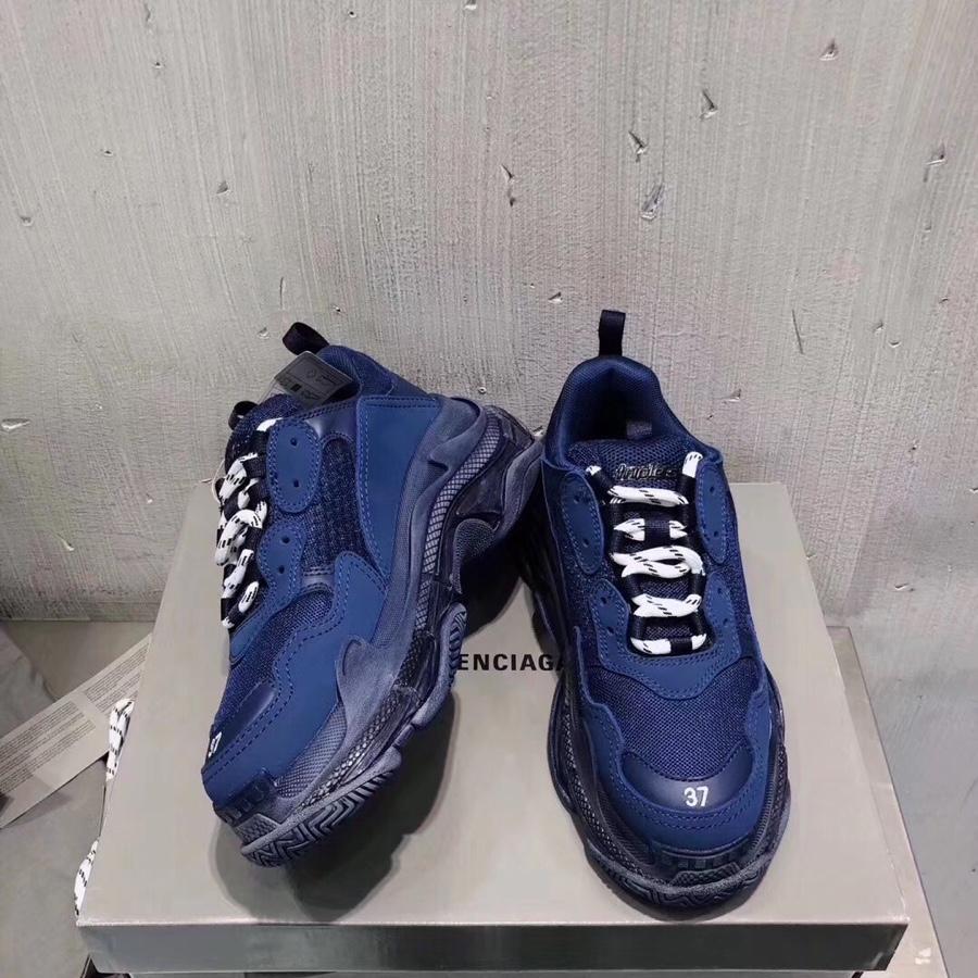 BALENCIAGA老爹鞋 巴黎世家新款Triples气垫水晶老爹鞋