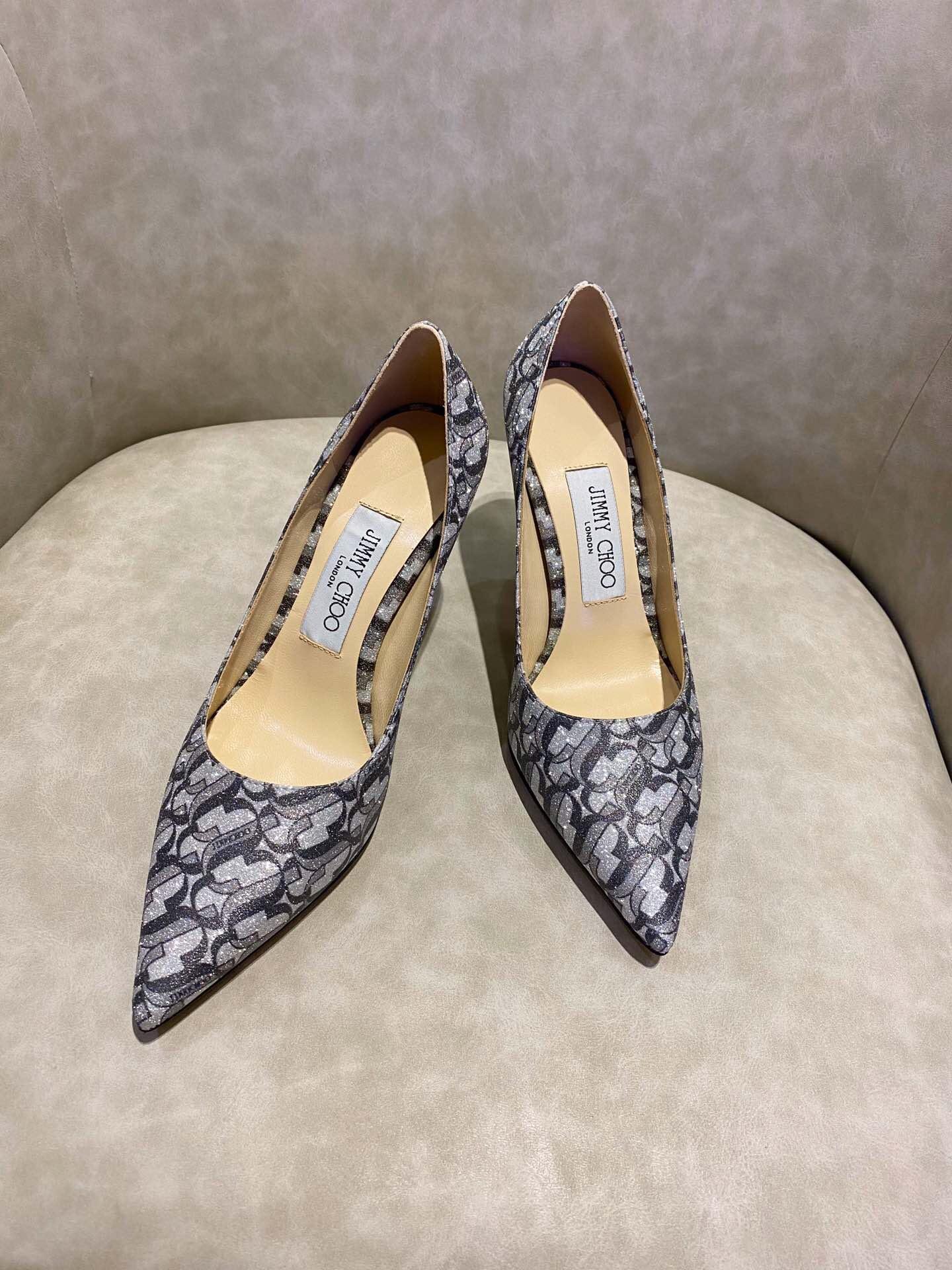 Jc高跟鞋 2020最新款尖头高跟鞋女士婚鞋