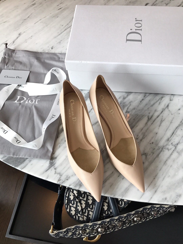 代购品质DIOR高跟鞋 2020迪奥最新款高跟单鞋