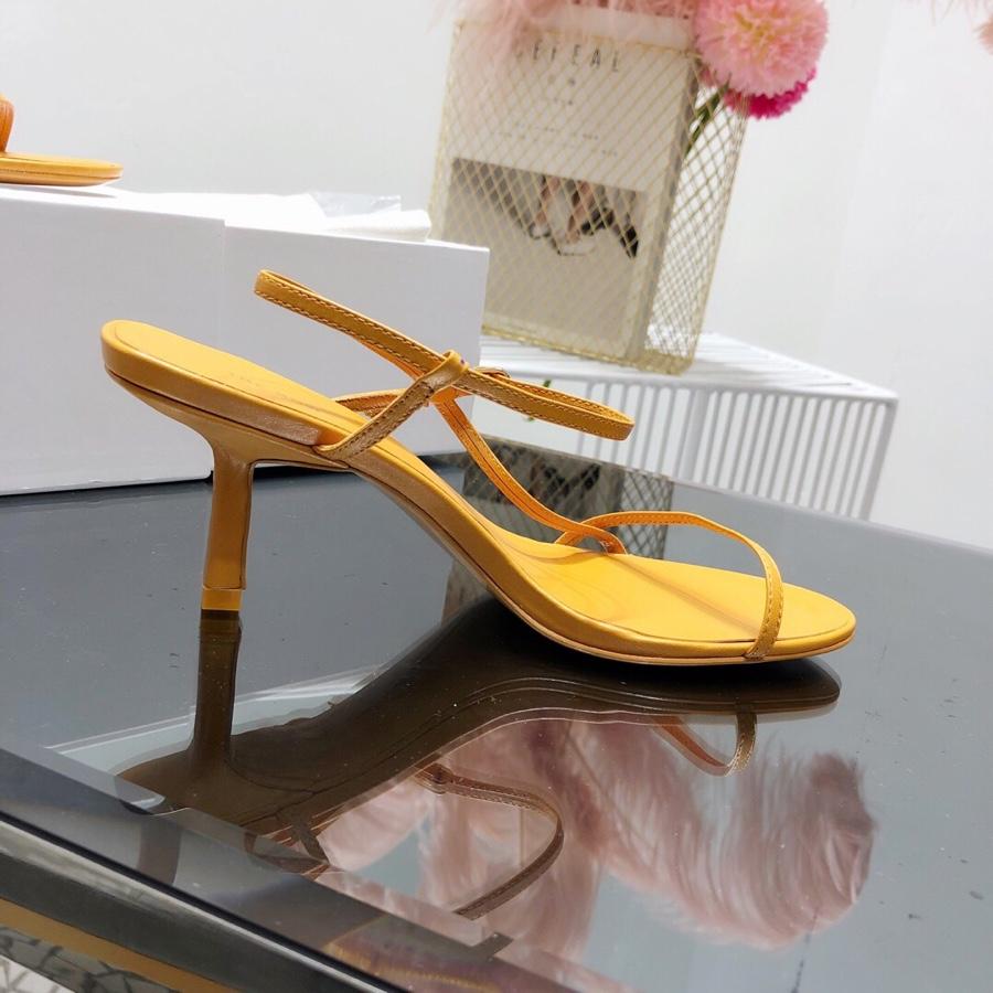 THE ROW 19SS春夏新款明星同款凉鞋